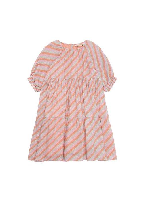 Soft Gallery Soft Gallery Honestly Dress Dewkist AOP Candystripe
