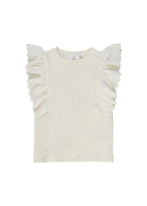The New The New Tilla S/S Tee Cloud Dancer
