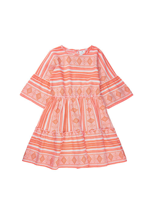 The New The New Ocie L/S Dress Nectrarine