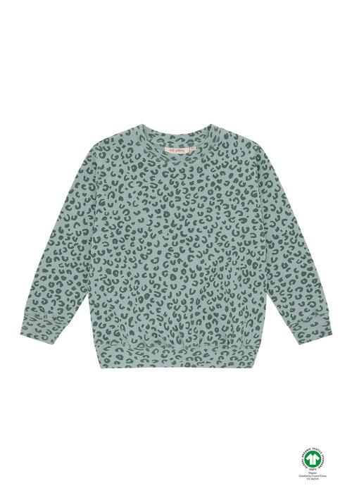 Soft Gallery Soft Gallery Baptiste Sweatshirt Slate AOP Leospot L