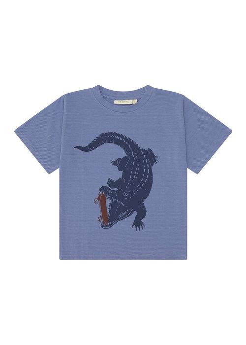 Soft Gallery Soft Gallery Dain T-Shirt Croissant Crocoskate