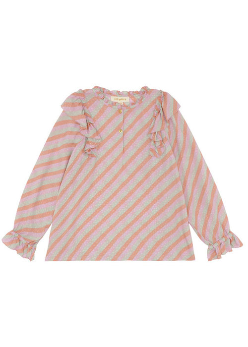 Soft Gallery Soft Gallery Hollyn Shirt Dewkist AOP Candystripe