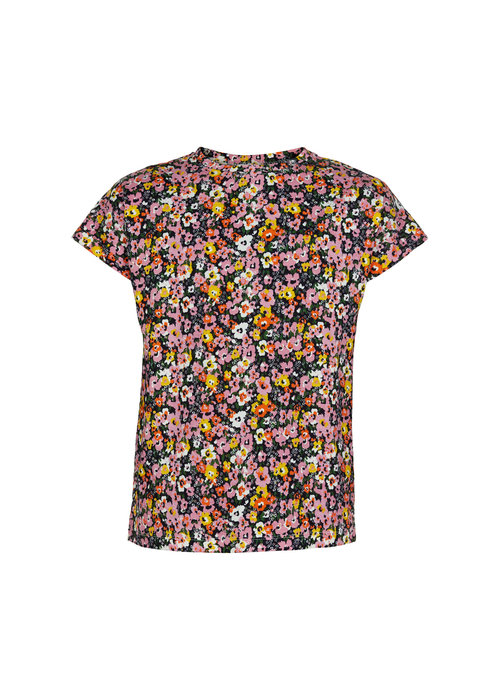 The New The New Try S/S Tee Floral AOP
