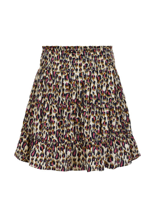 The New The New Trinity Skirt Leopard