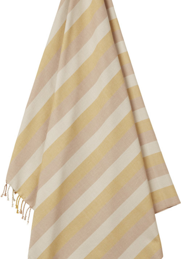 Liewood Mona Beach Towel Peach/Sandy/Mellow Yellow
