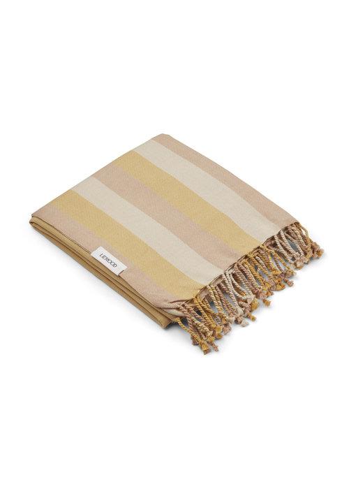 Liewood Liewood Mona Beach Towel Peach/Sandy/Mellow Yellow