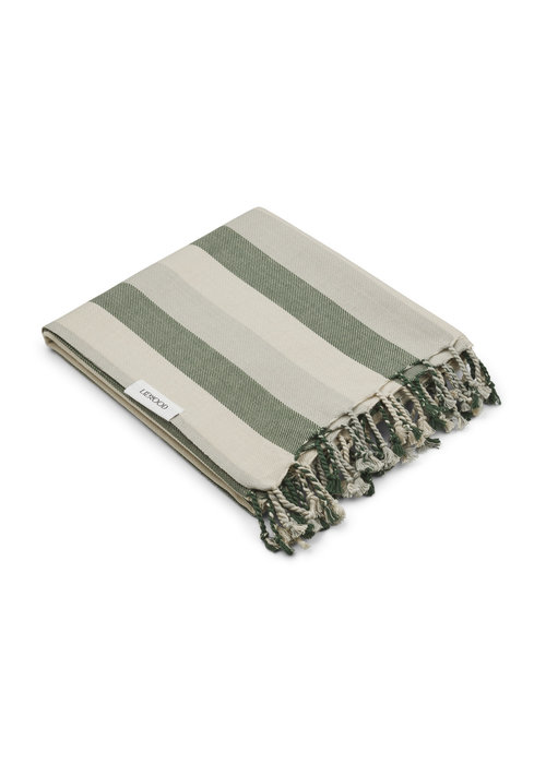 Liewood Liewood Mona Beach Towel Garden Green/Sandy/Dove Blue