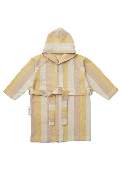Liewood Liewood Dana Bathrobe Peach/Sandy/Mellow Yellow