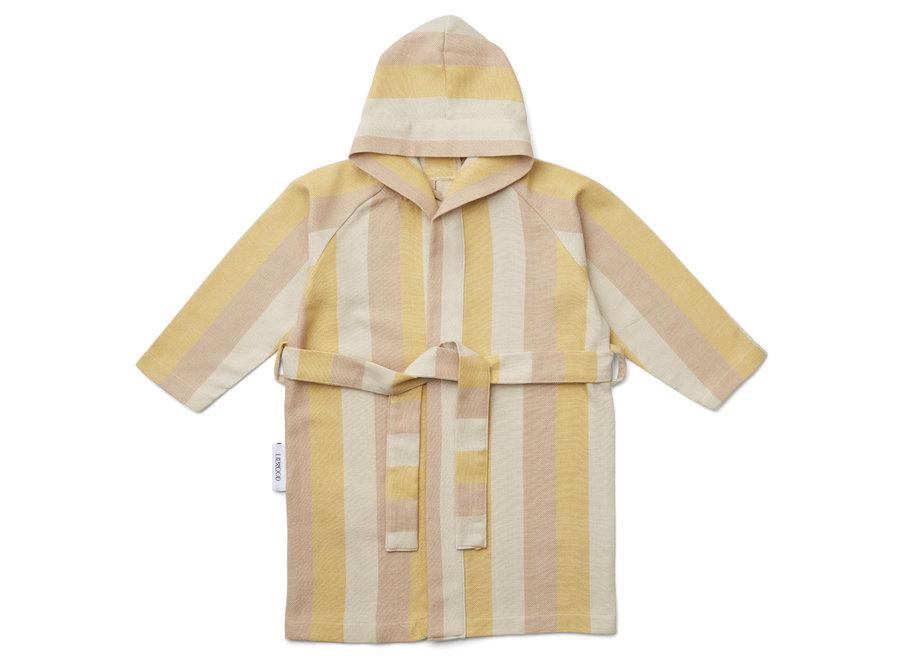 Liewood Dana Bathrobe Peach/Sandy/Mellow Yellow
