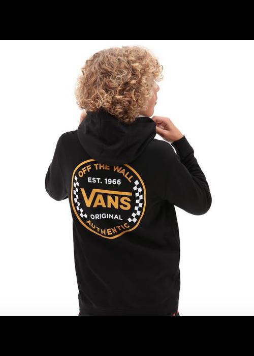 VANS Vans Authentic Checker Zip Hoodie Black