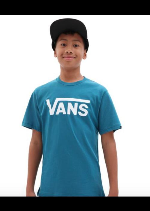 VANS Vans Tee Morrocan Blue White