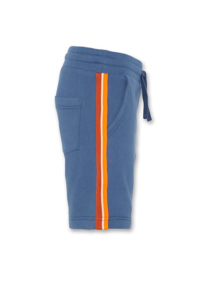 AO76 Sweater Shorts Tape Mid Blue