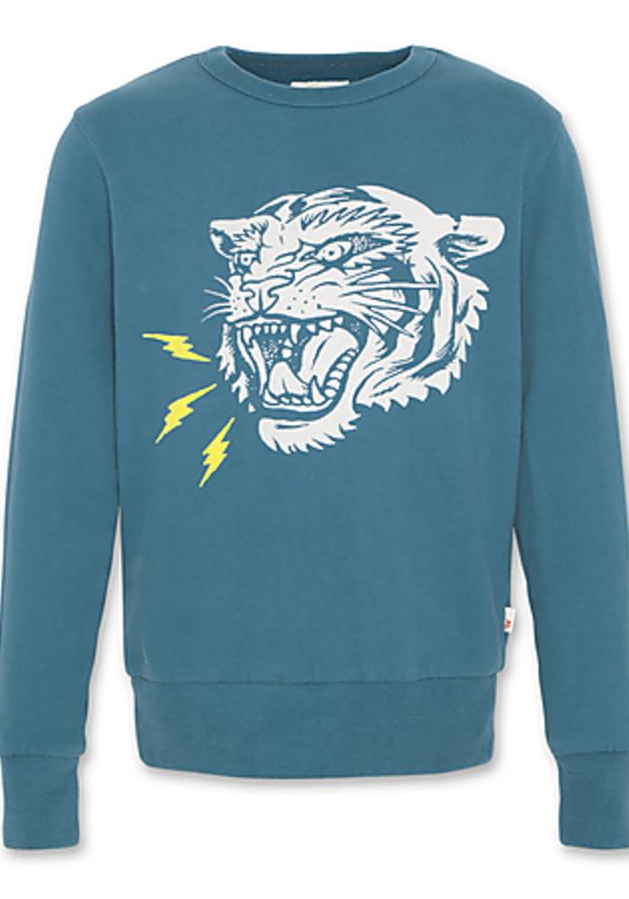 AO76 c-neck Sweater Tiger Laguna