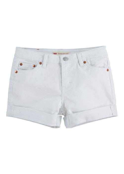 LEVI'S Levi's Denim Shorty Shorts White