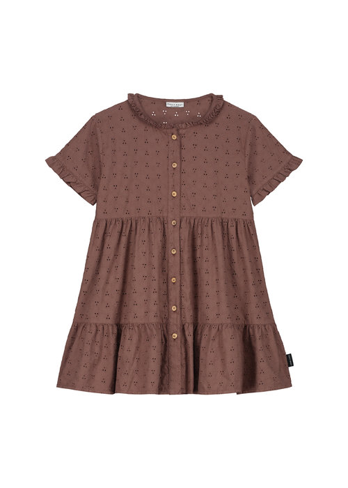 Daily Brat Daily Brat Celine Dress Rose Taupe