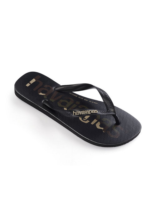 Havaianas Havaianas Top Logomania Black/White