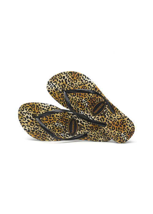 Havaianas Havaianas Slim Leopard Black