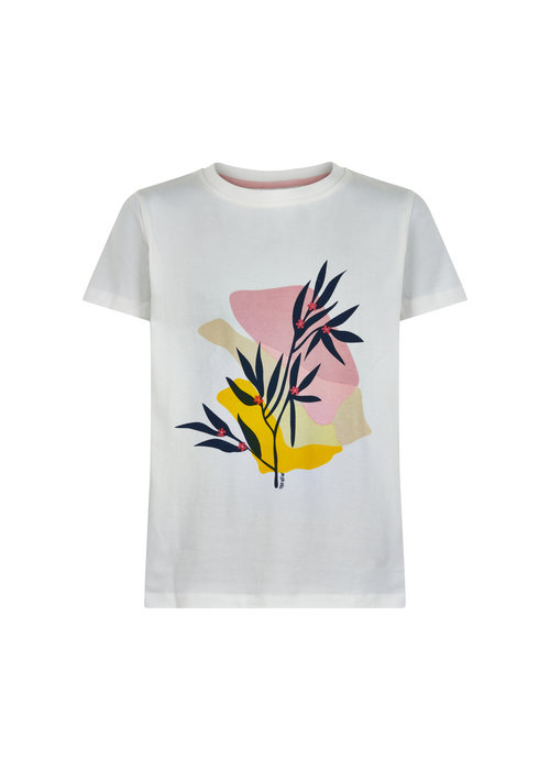 The New The New Uise S/S Tee Cloud Dancer
