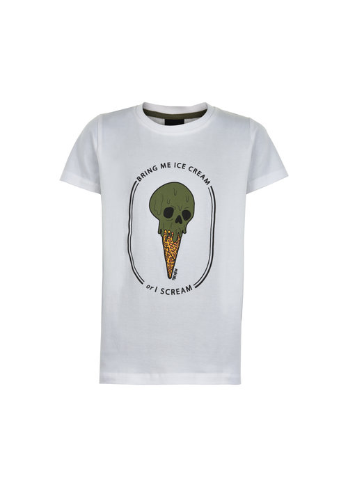 The New The New Uno S/S Tee Bright White