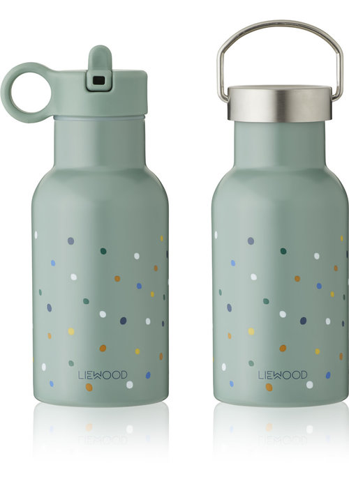 Liewood Liewood Anker Water Bottle Confetti Peppermint Mix