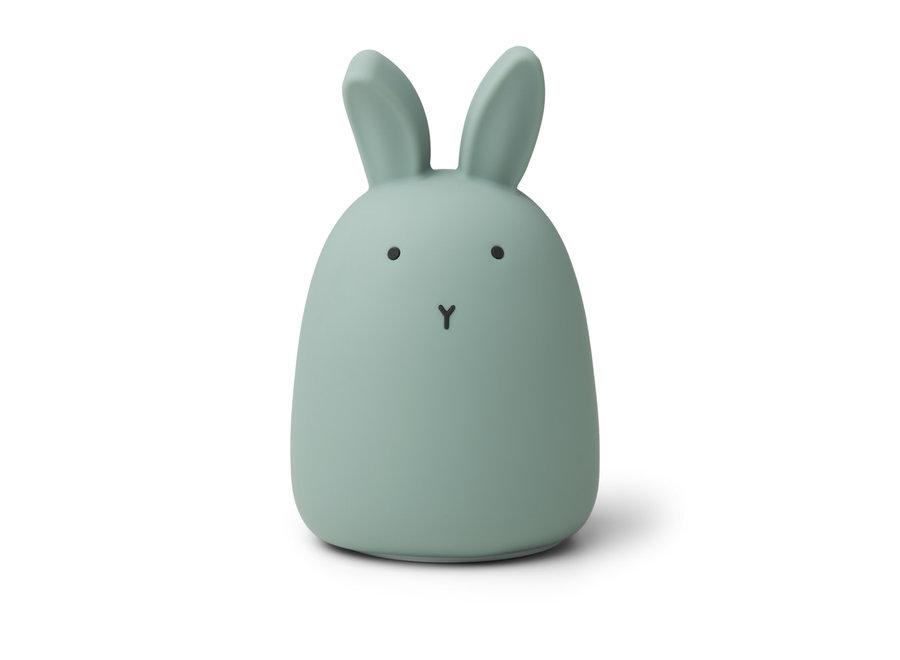 Liewood Winston Night Light Rabbit Peppermint