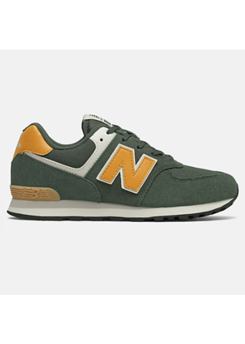 New Balance New Balance Sneaker Black Spruce/ Team Gold Lace