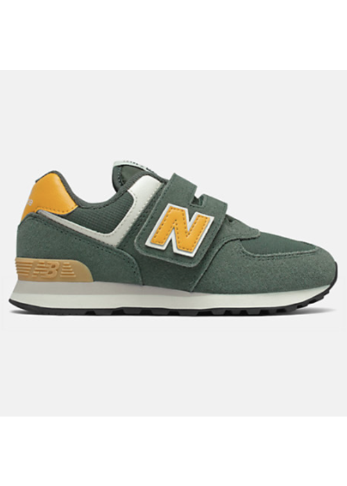 New Balance New Balance Sneaker Black Spruce/ Team Gold Velcro