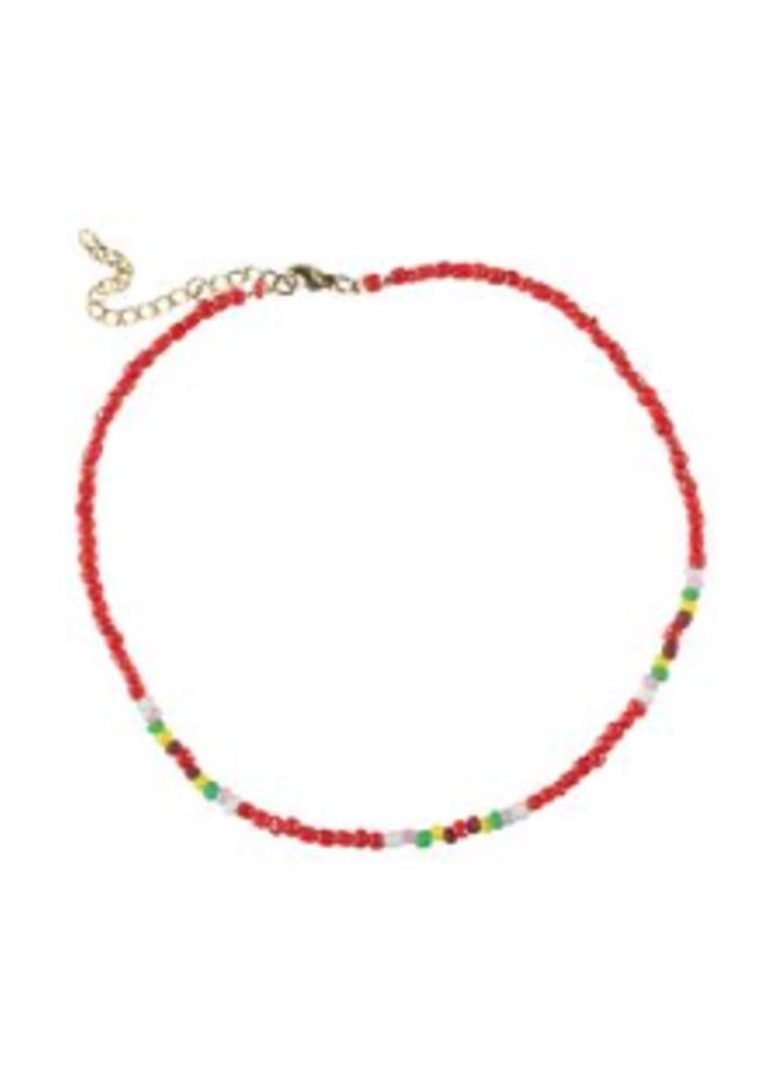 PiuPiuChick Necklace Red
