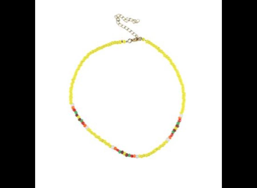 PiuPiuChick Necklace Yellow