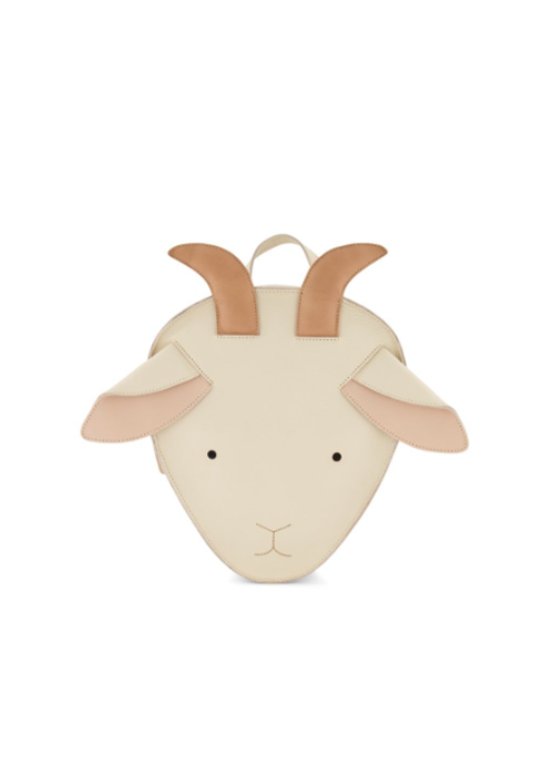 Donsje Donsje Umi Schoolbag Goat Cream Leather