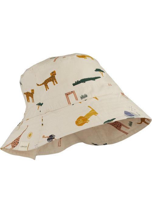 Liewood Liewood Sander Bucket Hat Safari Sandy Mix