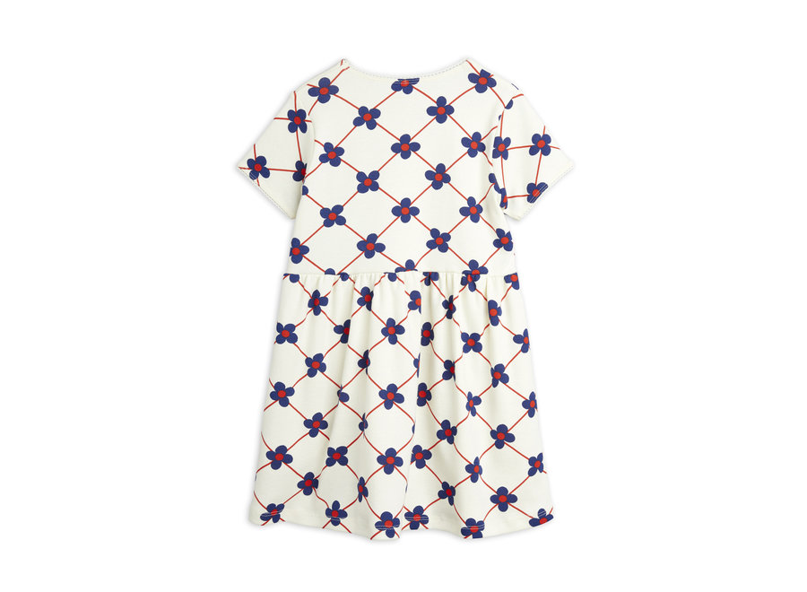 Mini Rodini Flower Check app SS Dress