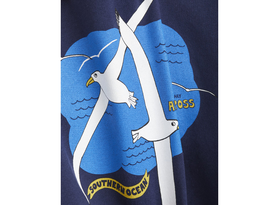 Mini Rodini Albatros sp Sweatshirt Navy