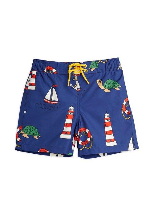 Mini Rodini Mini Rodini Turtle Float Swim Shorts