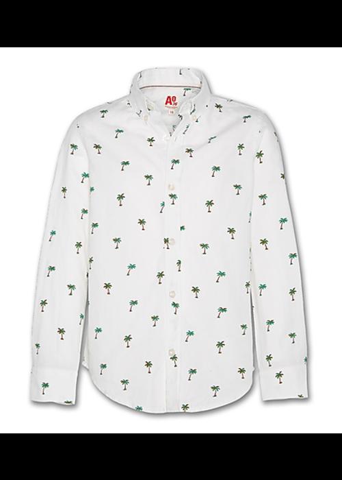 AO76 AO76 Button Down Shirt Hawaii White