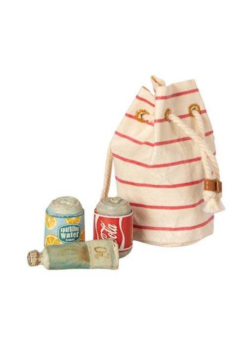 Maileg Maileg Bag w. Beach Essentials