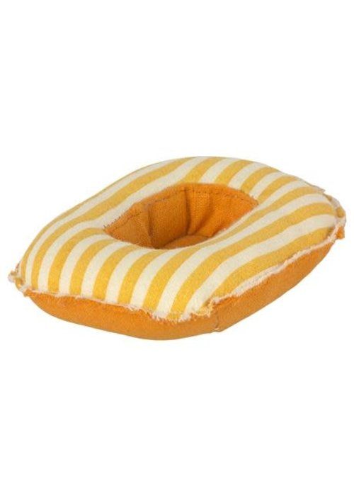 Maileg Maileg Maileg Rubber Boat Small mouse Yellow stripe