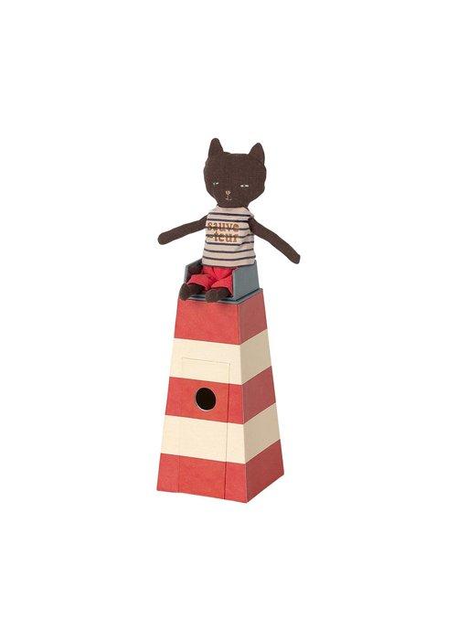 Maileg Maileg Sauveteur Tower with cat