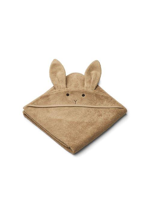 Liewood Liewood Augusta Hooded Towel Rabbit - Oat