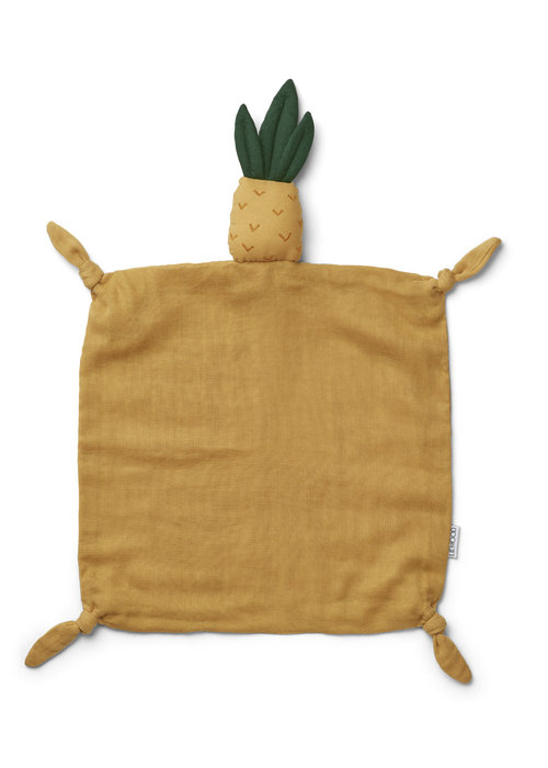 Liewood Liewood Agnete Cuddle Cloth Pineapple Yellow Mellow
