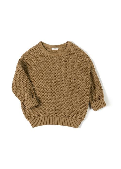 Nixnut Nixnut Tur Knit Sweater Toffee