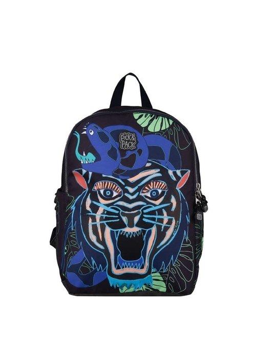 Pick&Pack Dangerous Cat Backpack Carbon M