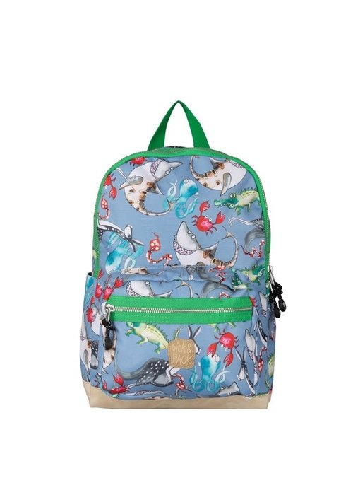 Pick&Pack Mix Animal Backpack Cloud Grey M