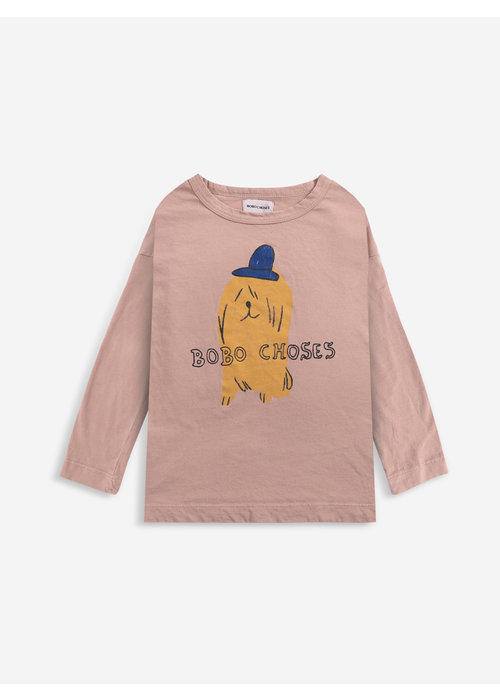 Bobo Choses Bobo Choses Dog In A Hat longsleeve T-shirt