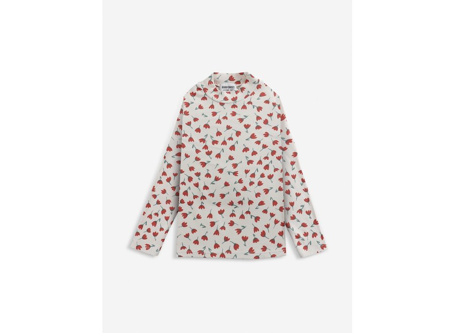 Bobo Choses Flowers All Over Turtle Neck