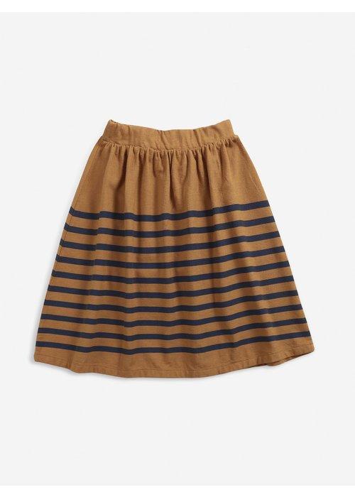 Bobo Choses Bobo Choses Stripped jersey midi skirt