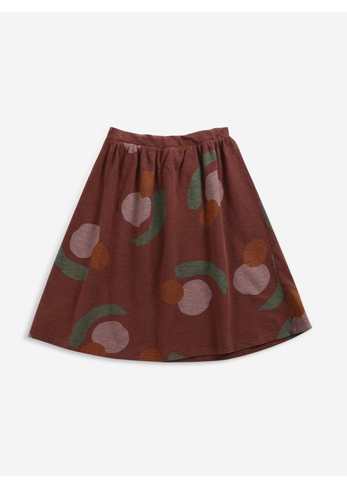 Bobo Choses Bobo Choses Fruits All Over jersey midi skirt