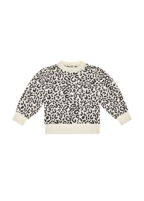 The New Society The New Society Rose Jumper Leopard