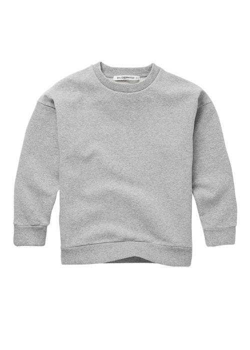 Mingo Mingo Sweater Cloudy Grey Sweat brushed