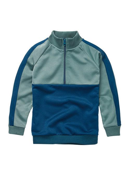Mingo Mingo Tracking Sweater Deep Navy Interlock
